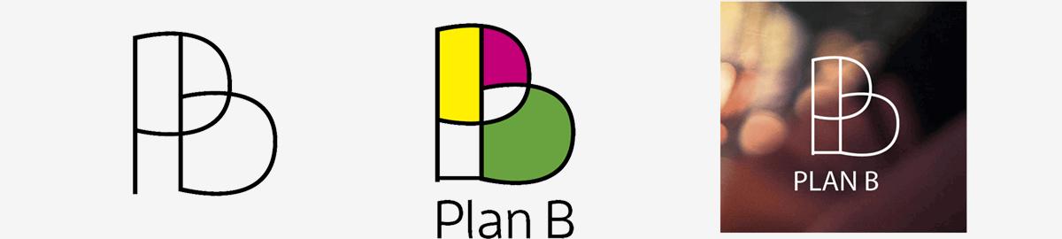 Digitale uitwerking logo in beeld gebracht. In lijn, in kleur en in combinatie met sfeerbeeld.
