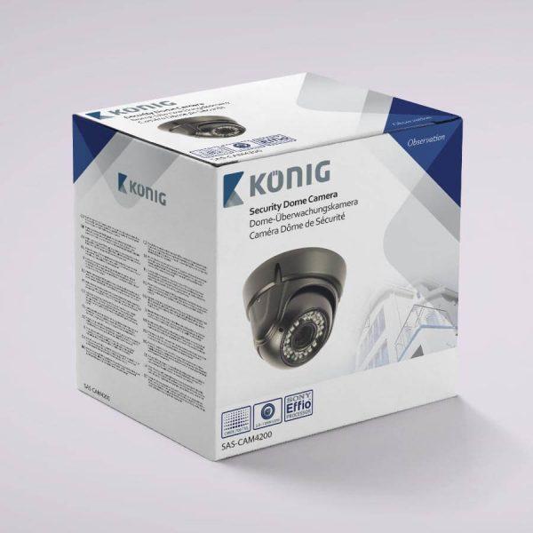 Verpakking SAS-Cam4200 bewakingscamera