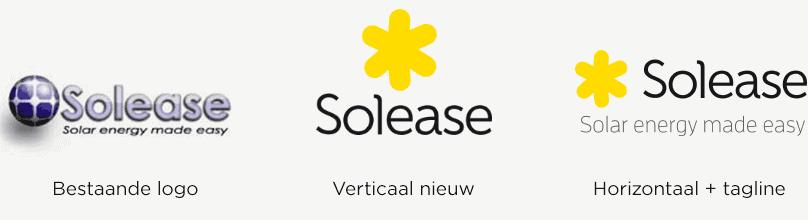 Logo ontwikkeling oud naar nieuw