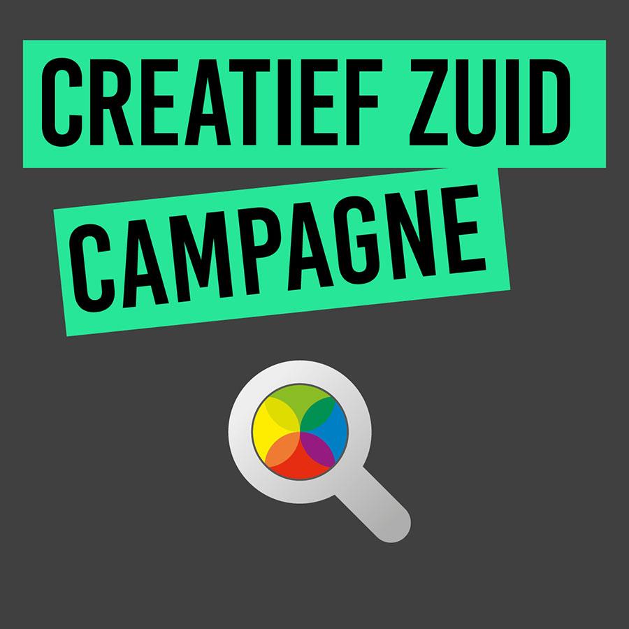 Front-image Creatief Zuid campagne
